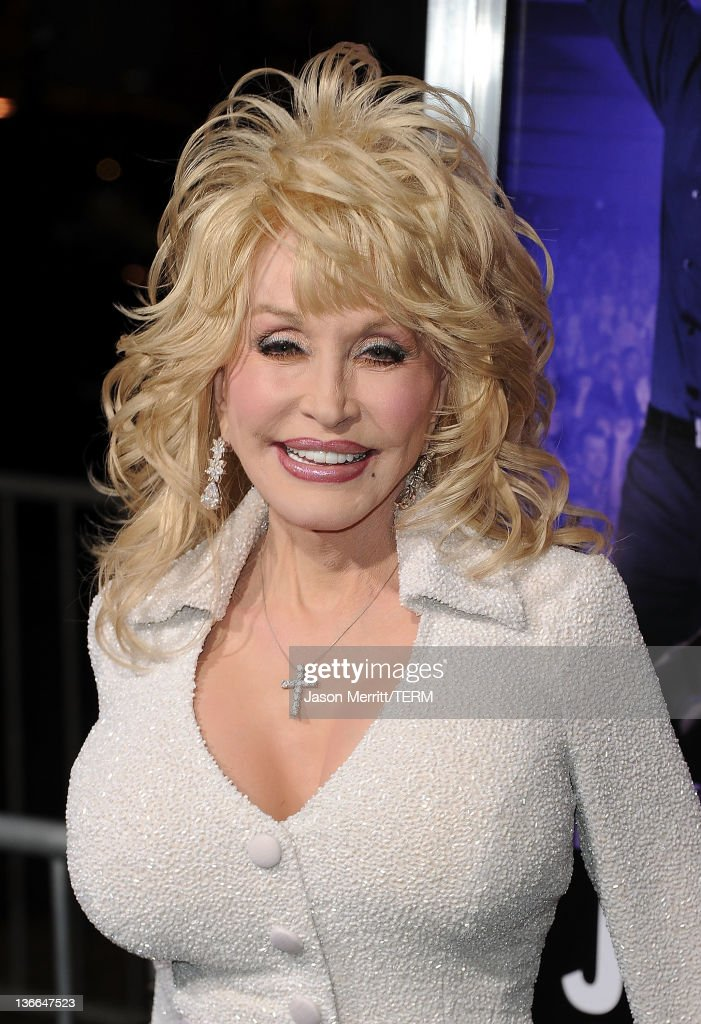 Actress Dolly Parton arrives at the premiere of Warner Bros. Pictures' 'Joyful Noise' held at Grauman's Chinese Theatre on January 9, 2012 in Hollywood, California.