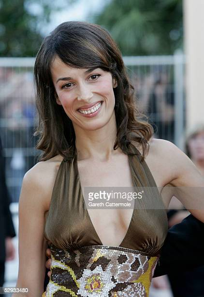 US actress Dolores Chaplin attends the screening of Peindre Ou Faire L'Amour at the Palais during the 58th International Cannes Film Festival May 18...