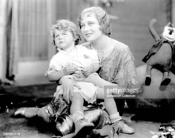 Actress Dolores Costello in a scene from the movie A Million Bid