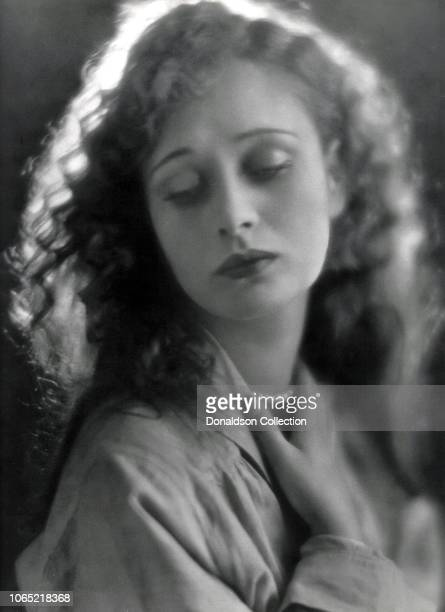 Actress Dolores Costello in a scene from the movie The Little Irish Girl
