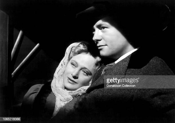 Actress Dolores Costello in a scene from the movie The Magnificent Ambersons