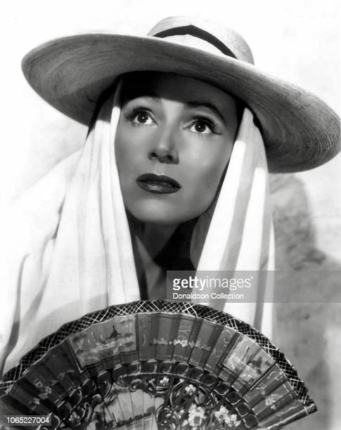 Actress Dolores Del Rio in a scene from the movie The Fugitive