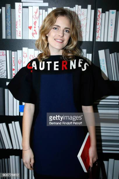Actress Dolores Doll attends the Manifesto Sonia Rykiel 5Oth Birthday Party at the Flagship Store Boulevard Saint Germain des Pres on January 16 2018...