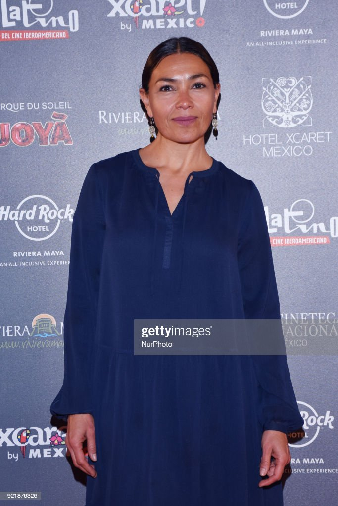 Actress Dolores Eredia is seen attending at photocall to promote 5th Platinum Awards of Ibero-American Cinema, the event will be held on April 29 in Rivera Maya. at Cineteca Nacional on February 20, 2018 in Mexico City, Mexico