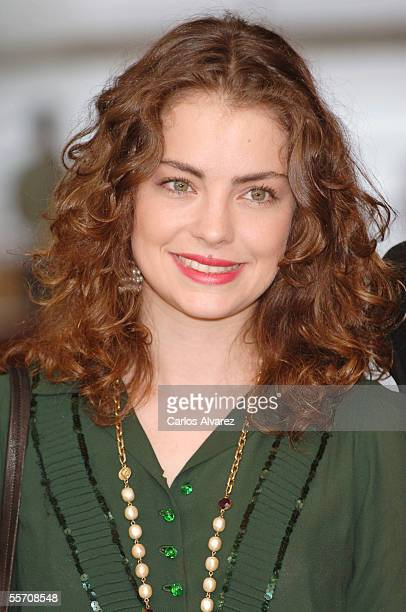 Actress Dolores Fonzi attends the photocall for 'El Aura' on the third day of the 53rd San Sebastian International Film Festival on September 17 2005...