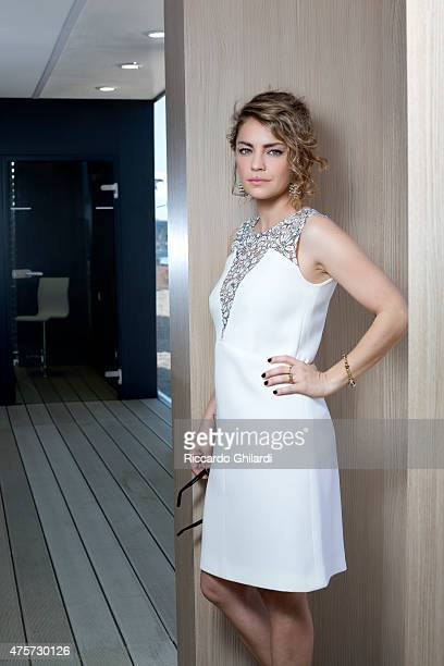 Actress Dolores Fonzi is photographed for Self Assignment on May 2015 in Cannes France