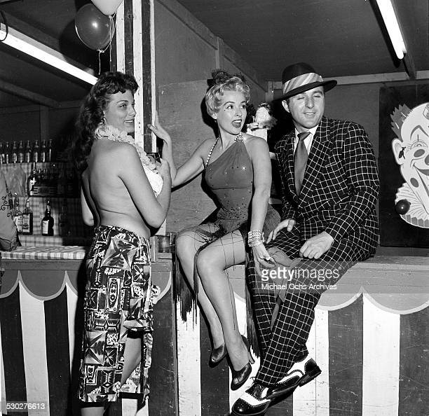 Actress Dolores Reed attends a party in Los AngelesCA American pinup model