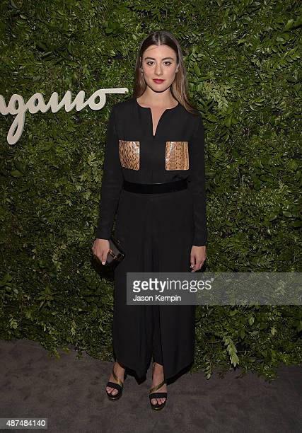 Actress Dominik GarcaLorido attends the Salvatore Ferragamo Celebration of 100 Years in Hollywood with the newly unveiled Rodeo Drive flagship at...