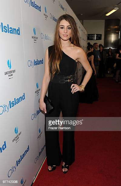 Actress Dominik GarciaLorido arrives at Anchor Bay Films' City Island premiere held at the Landmark Theater on March 15 2010 in Los Angeles California