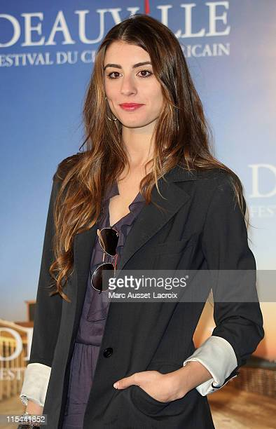 US actress Dominik GarciaLorido attends a photo call for the movie 'City Island' at the 35th American Film Festival in Deauville on September 11 2009...