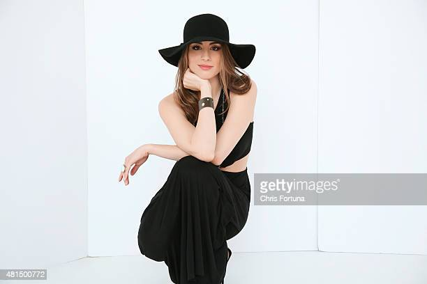 Actress Dominik Garcia-Lorido is photographed for New York Moves on May 1, 2013 in Los Angeles, California.
