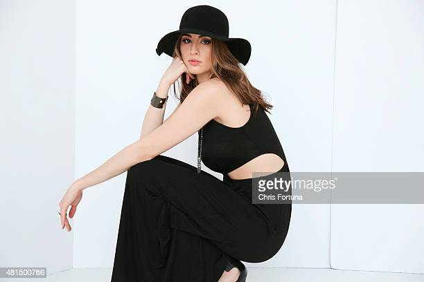 Actress Dominik GarciaLorido is photographed for New York Moves on May 1 2013 in Los Angeles California