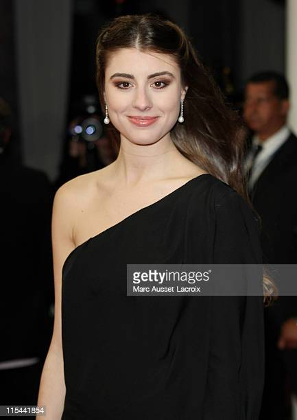 US actress Dominik GarciaLorido poses for the screening of the movie 'City Island' directed by US film director Raymond De Felitta at the 35th US...