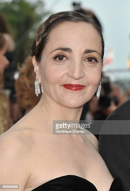 Actress Dominique Blanc attends the premiere of 'Poetry' held at the Palais des Festivals during the 63rd Annual International Cannes Film Festival...