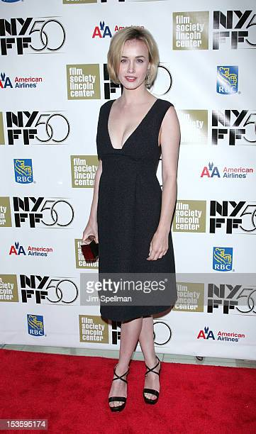 Actress Dominique McElligot attends Not Fade Away Centerpiece Gala Presentation during The 50th New York Film Festival at Alice Tully Hall Lincoln...