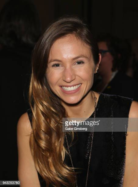 Actress Dominique ProvostChalkley attends the Cocktails for Change fundraiser hosted by ClexaCon to benefit Cyndi Lauper's True Colors Fund at the...