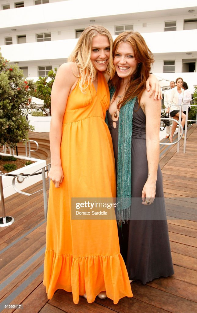 Actress Dominique Swain (L) and make-up artist Alexis Swain attend the Dior Beauty Luncheon held at Hotel Shangri-La on June 3, 2009 in Santa Monica, California.