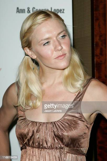 Actress Dominique Swain at The 29th Annual 'The Gift of Life' Gala at the Century Plaza Hotel on May 18 2008 in Los Angeles California