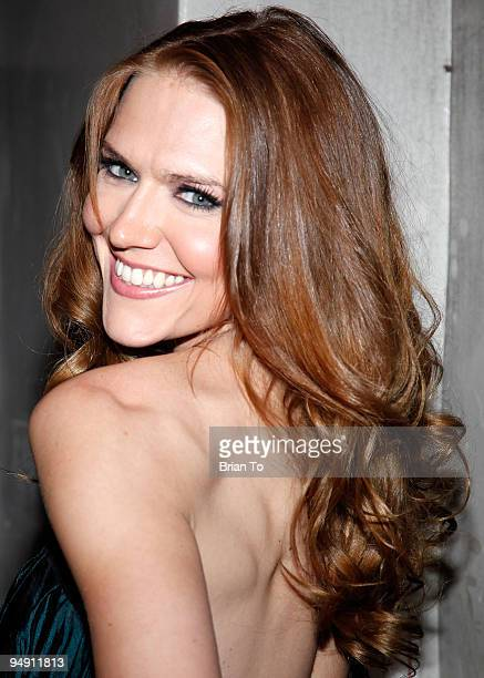 Actress Dominique Swain attends the 'Fall Down Dead' Los Angeles Premiere Arrivals at Laemmle's Music Hall Theatre on December 18 2009 in Beverly...