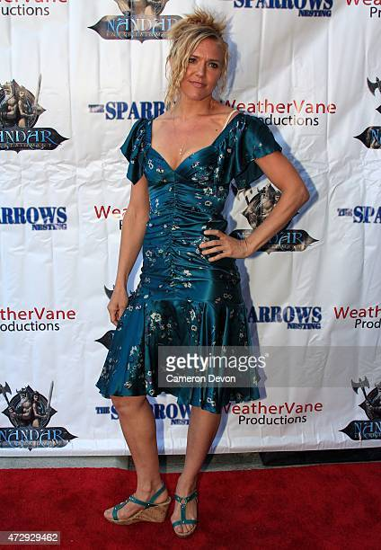 Actress Dominique Swain attends the Los Angeles premiere of 'The Sparrows' at Charlie Chaplin Theatre on April 20 2015 in Los Angeles California