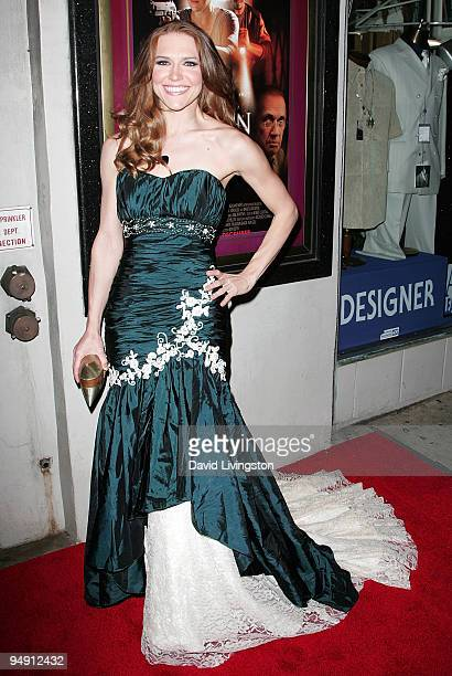 Actress Dominique Swain attends the premiere of Fall Down Dead at Laemmle's Music Hall 3 on December 18 2009 in Beverly Hills California