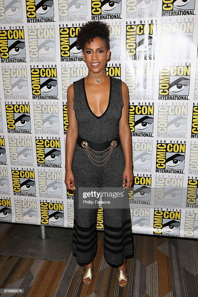 Actress Dominique Tipper attends 'The Expanse' press line during Comic-Con International 2016 on July 23, 2016 in San Diego, California.