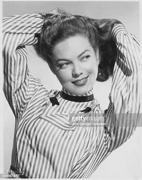 Actress Dona Drake around the time of her appearance in the 1949 movie The Doolins of Oklahoma