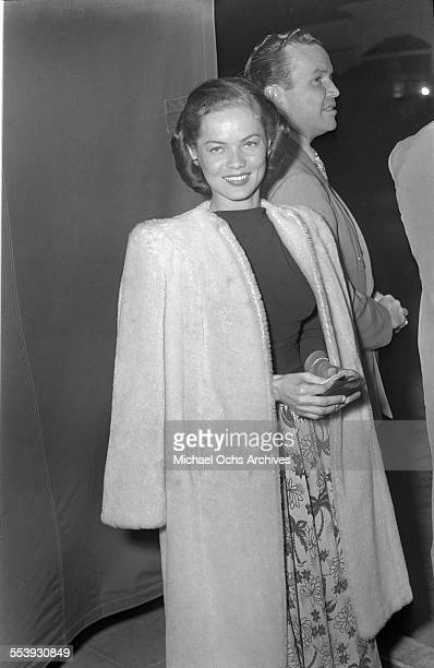 Actress Dona Drake poses as she attends an event in Los Angeles California