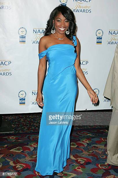 Actress Donielle Artese attends the 18th Annual NAACP Theater Awards at the Kodak Theater on June 30 2008 in Hollywood California