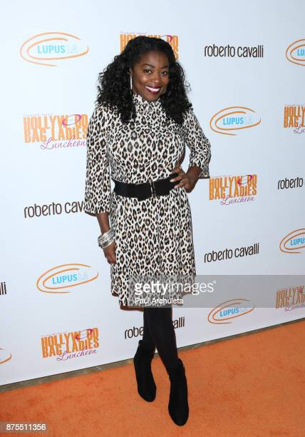 Actress Donielle Artese attends the Lupus LA 15th annual Hollywood Bag Ladies Lunch at The Beverly Hilton Hotel on November 17 2017 in Beverly Hills...