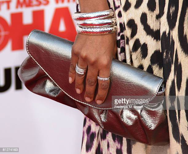 Actress Donielle Artese attends the You Don't Mess With The Zohan film premiere at Grauman's Chinese Theatre on May 28 2008 in Hollywood California