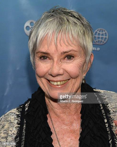 Actress Donna Anderson attends the 5th anniversary of 'Kat Kramer's Films That Changed The World' featuring the North American premiere of 'Fallout'...