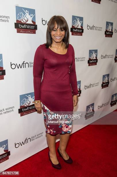 Actress Donna Biscoe attends the 2017 Black Women Film Summit Untold Stories awards luncheon at Atlanta Marriott Marquis on March 3 2017 in Atlanta...