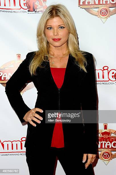 Actress Donna D'Errico attends the premiere of Annie at the Hollywood Pantages Theatre on October 13 2015 in Hollywood California