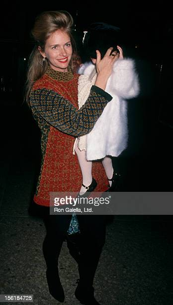 Actress Donna Dixon and Danielle Aykroyd attend the premiere of 'Hook' on December 8 1991 at the Cineplex Odeon Cinema in Century City California