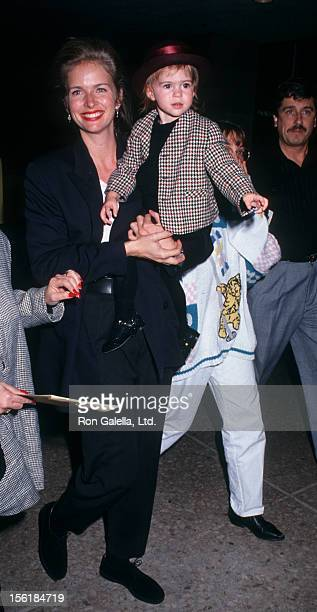 Actress Donna Dixon and daughter Danielle Aykroyd attend the premiere of 'My Girl' on November 3 1991 at the Cineplex Odeon Cinema in Century City...