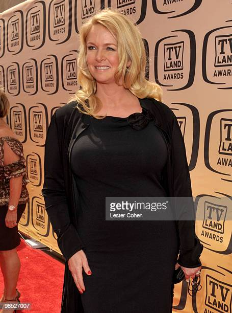 Actress Donna Dixon arrives at the 8th Annual TV Land Awards at Sony Studios on April 17 2010 in Los Angeles California