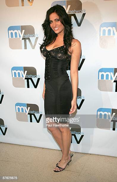 Actress Donna Feldman attends the MyNetwork TV Upfront Presentation at the Hilton Theatre May 16 2006 in New York City