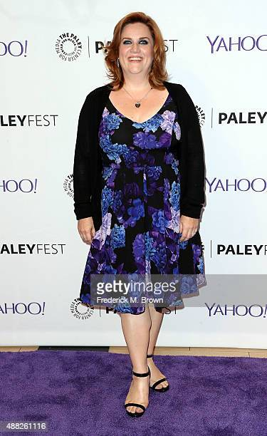 Actress Donna Lynne Champlin of the television show Crazy ExGirlfriend attends The Paley Center for Media's PaleyFest 2015 Fall TV preview for the CW...