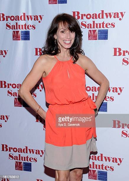 Actress Donna Marie Asbury attends the 5th Annual Broadway Salutes at The Times Square Building on September 24 2013 in New York City