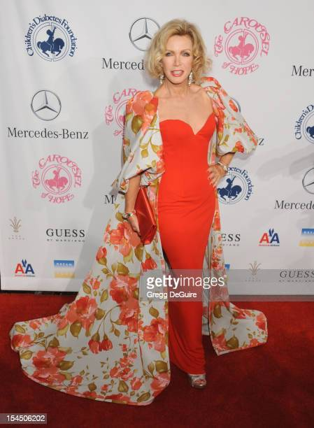 Actress Donna Mills arrives at the 26th Anniversary Carousel Of Hope Ball presented by MercedesBenz at The Beverly Hilton Hotel on October 20 2012 in...