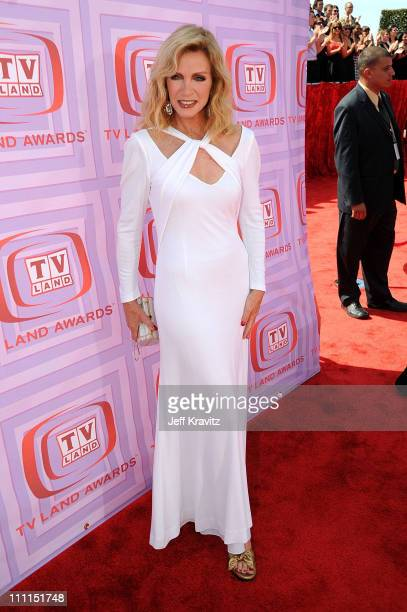 Actress Donna Mills arrives at the 7th Annual TV Land Awards held at Gibson Amphitheatre on April 19, 2009 in Universal City, California.
