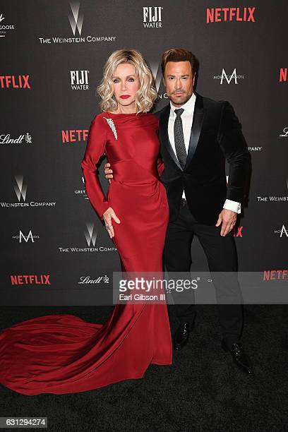 Actress Donna Mills attend The Weinstein Company and Netflix Golden Globe Party presented with FIJI Water Grey Goose Vodka Lindt Chocolate and...