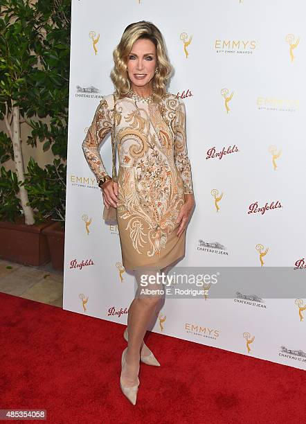 Actress Donna Mills attends a cocktail reception hosted by the Academy of Television Arts Sciences celebrating the Daytime Peer Group at Montage...