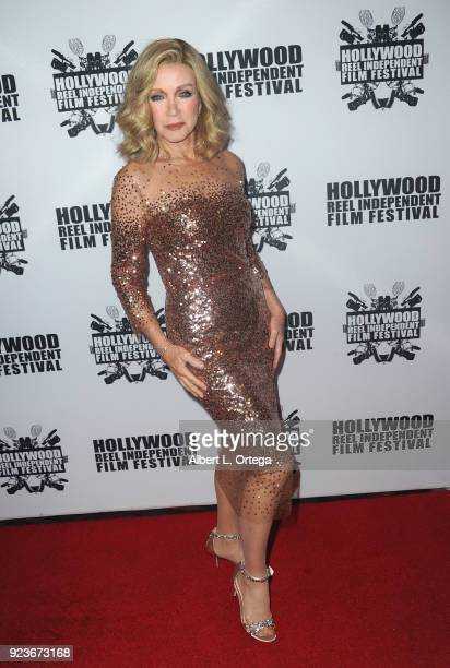Actress Donna Mills attends the 17th Annual Hollywood Reel Independent Film Festival Award Ceremony Red Carpet Event held at Regal Cinemas LA LIVE...