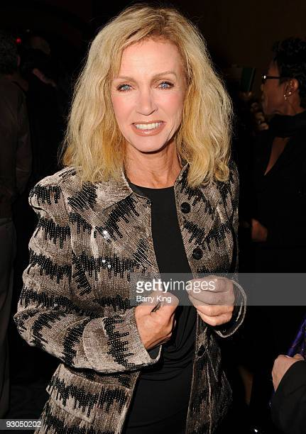 Actress Donna Mills attends the Baby It's You Opening Night at the Pasadena Playhouse on November 13 2009 in Pasadena California
