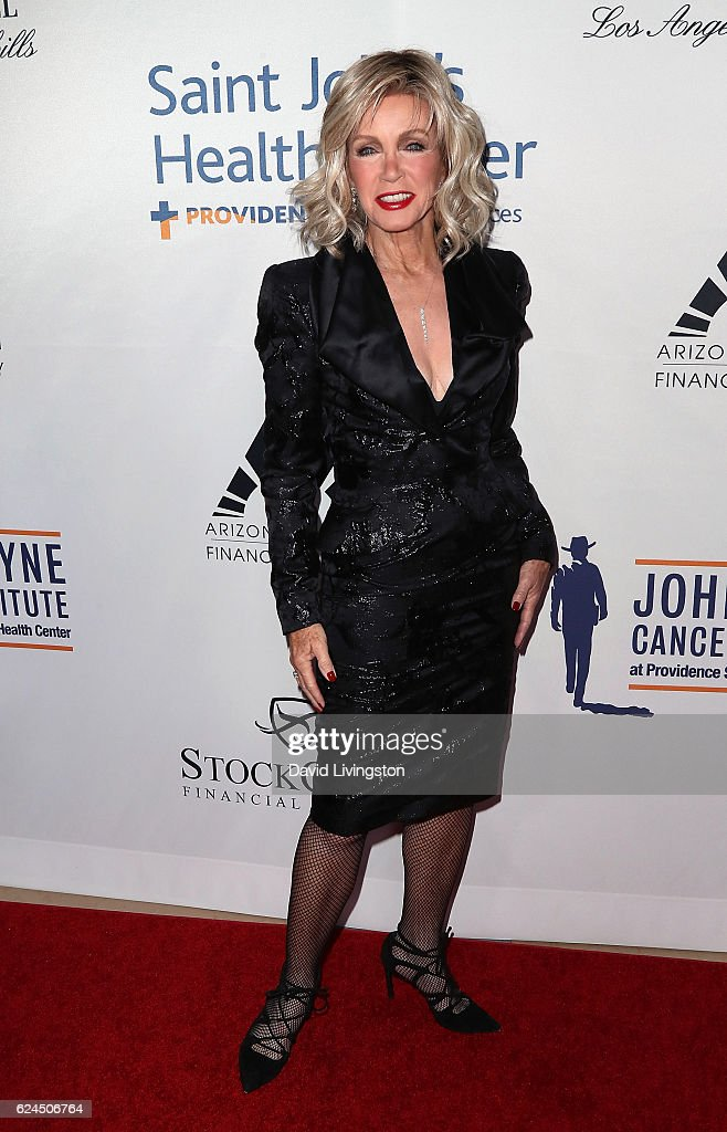 Actress Donna Mills attends the Talk of the Town Gala 2016 at The Beverly Hilton Hotel on November 19, 2016 in Beverly Hills, California.