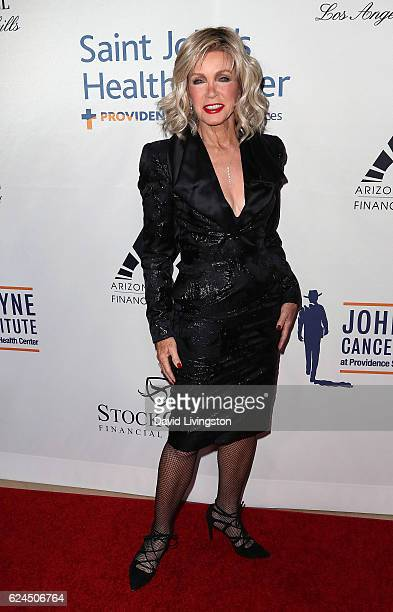 Actress Donna Mills attends the Talk of the Town Gala 2016 at The Beverly Hilton Hotel on November 19 2016 in Beverly Hills California