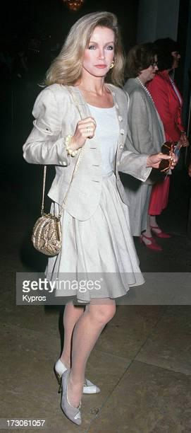 Actress Donna Mills circa 1992
