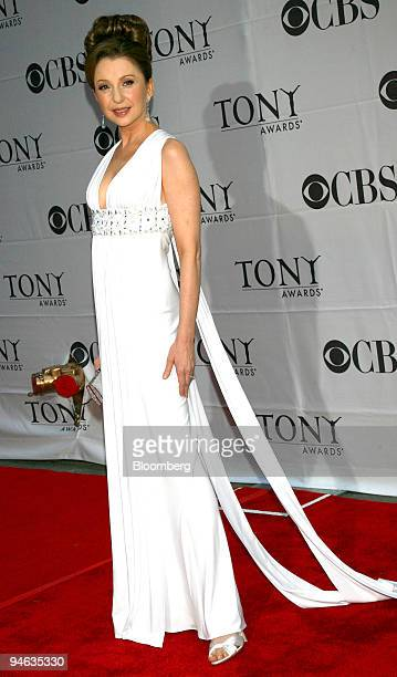 """Actress Donna Murphy, of the show """"LoveMusik,"""" arrives for the 61st Annual American Theatre Wing's Tony Awards at Radio City Music Hall in New York,..."""